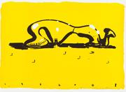 Aki KURODA, SWEET CITY I, 2008. Lithographie originale, 76 x 56 cm. Signé et numéroté (75 exemplaires).